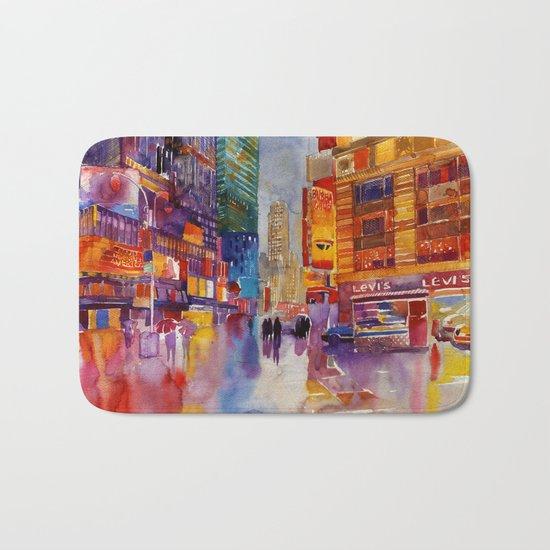 Walk in New York Bath Mat