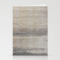 concrete Stationery Cards featuring Concrete by Patterns and Textures