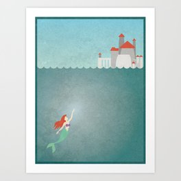 Open Seas Art Print