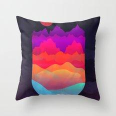 Mountain Escape Throw Pillow