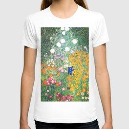 "Gustav Klimt ""Blumengarten (Flower Garden)"" T-shirt"