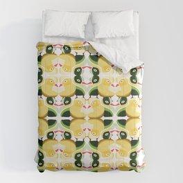 Pato Amarillo Comforters