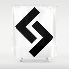 Jera Rune Shower Curtain