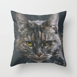 Look into my soul Throw Pillow