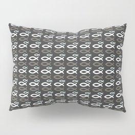 Ichthys Pattern Christian Design Pillow Sham