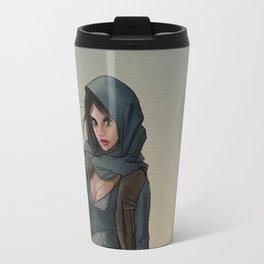 Jyn Erso - Fan Art Travel Mug