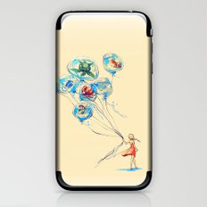 Water Balloons iPhone & iPod Skin