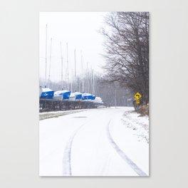 south shore drive Canvas Print