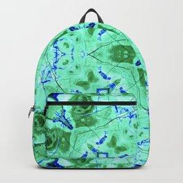 Blue Green Azurite Backpack