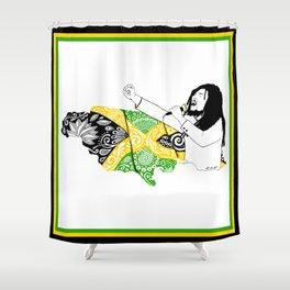 Jamaica -  Freedom Time Shower Curtain