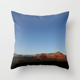 Photography Serenity in Sedona Throw Pillow