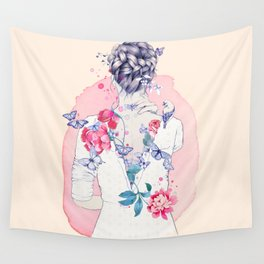Undress me Wall Tapestry