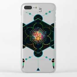 The Core of self - Egyptian Conceptual modern Art Clear iPhone Case