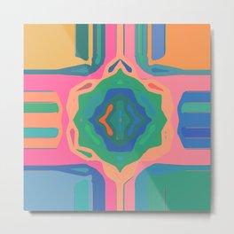 Vibrant Pattern 222 Metal Print