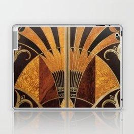 art deco wood Laptop & iPad Skin