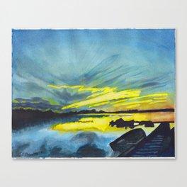 Dore Lake Canvas Print