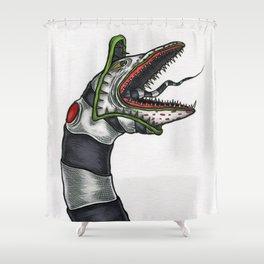 Sandworm Shower Curtain
