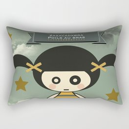 Poil au bras Rectangular Pillow