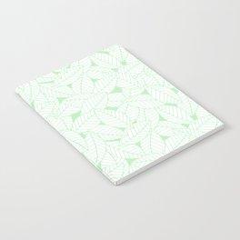 Leaves in Wintergreen Notebook