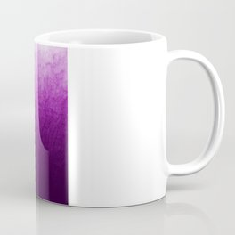 Purple Watercolor On Cotton Coffee Mug