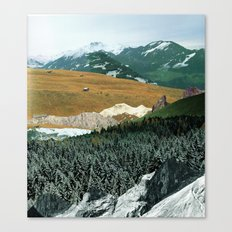 Experiment am Berg 21 Canvas Print