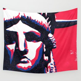 Lady Liberty II Wall Tapestry