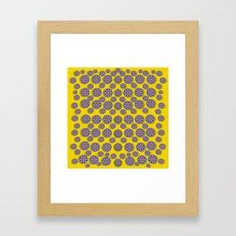 Sunshine and floral in mind for decorative delight Framed Art Print