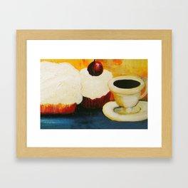 Dessert! Framed Art Print
