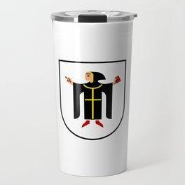 Coat of arms of Munich München Travel Mug