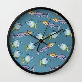 Bizarre Fishes Wall Clock