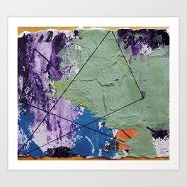 Triad Art Print