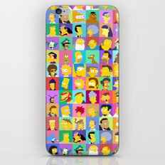 Simpsons iPhone & iPod Skin