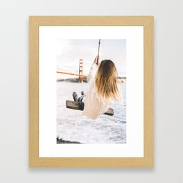 San Francisco Swing Framed Art Print