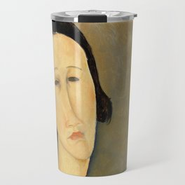 "Amedeo Modigliani ""Madame Hanka Zborowska"" Travel Mug"