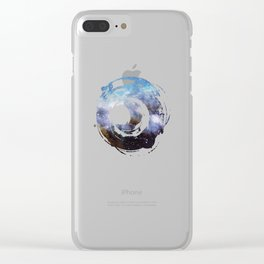 Over the Stars Clear iPhone Case