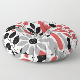 tropical tangle Floor Pillow