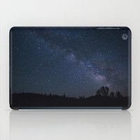 night sky iPad Cases featuring night sky by illustratographer
