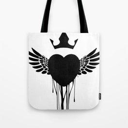 ink heart Tote Bag