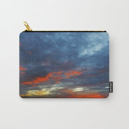 Orange Highlights Carry-All Pouch
