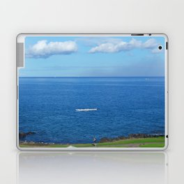 Running with the Outrigger  Laptop & iPad Skin
