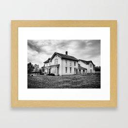 Classic American House Framed Art Print