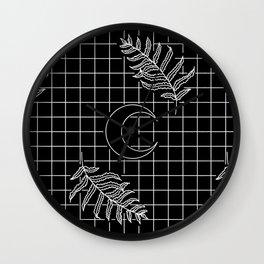 Moon Oracle Wall Clock