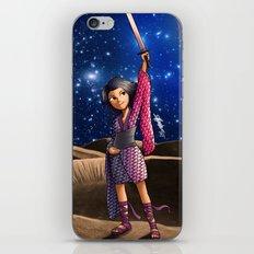 Mercury Princess iPhone & iPod Skin