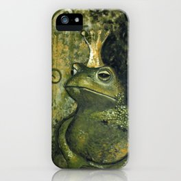 The FROG KING iPhone Case
