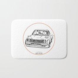 Crazy Car Art 0051 Bath Mat
