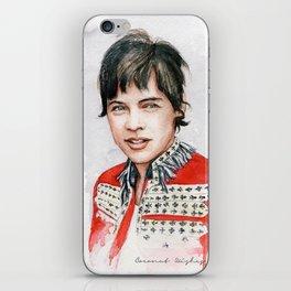 H Watercolors V iPhone Skin