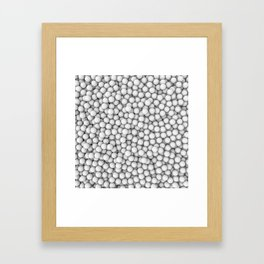 Golf balls Framed Art Print