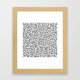 Golf balls Framed Art Print