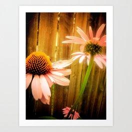 Child Of The Flowers Art Print