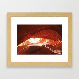 Dragon's Eye Framed Art Print